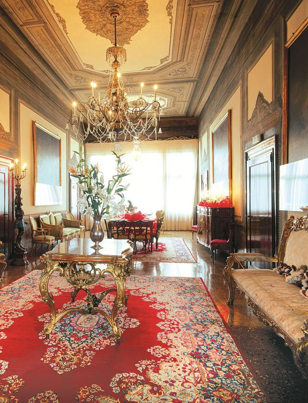 Palazzo Abadessa is one of the most romantic hotels in Venice, Italy