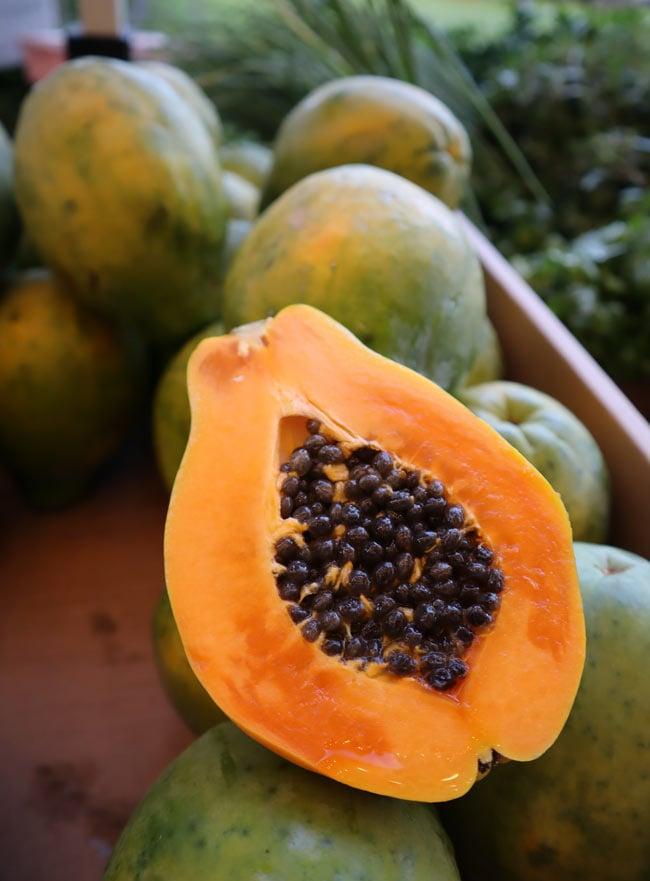 Papaya in Hawaii