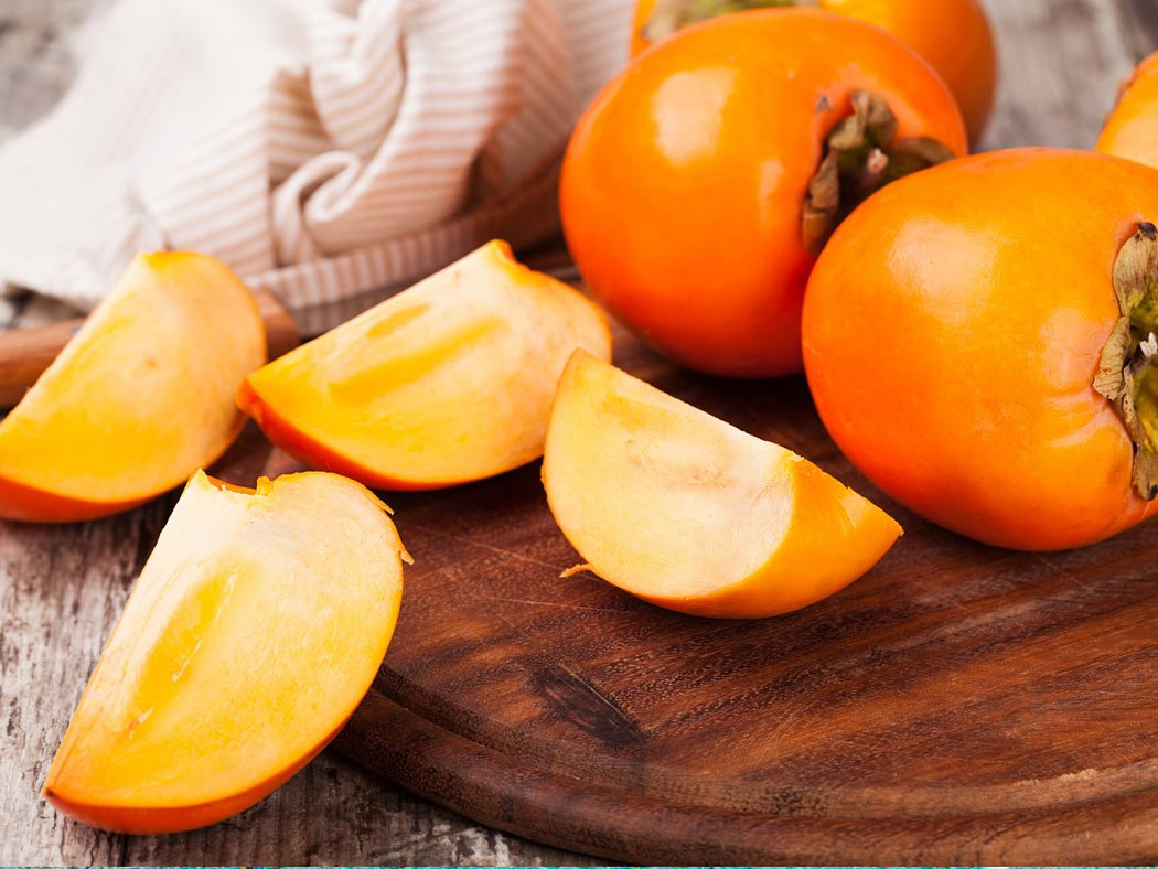 Persimmon is one of the exotic fruits in Hawaii