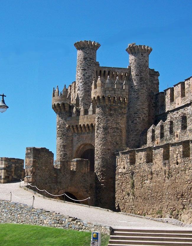 The Castle of the Knights Templar of Ponferrada