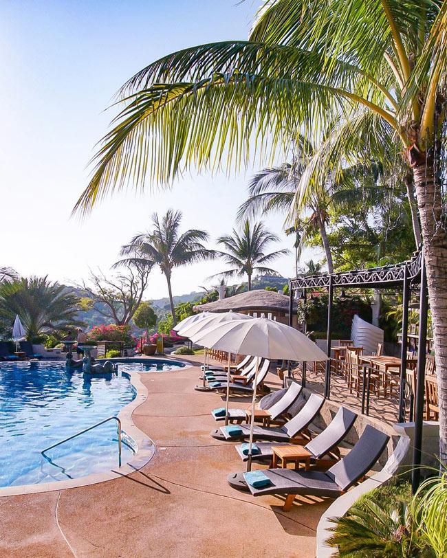 The pool at Jamahkiri Resort