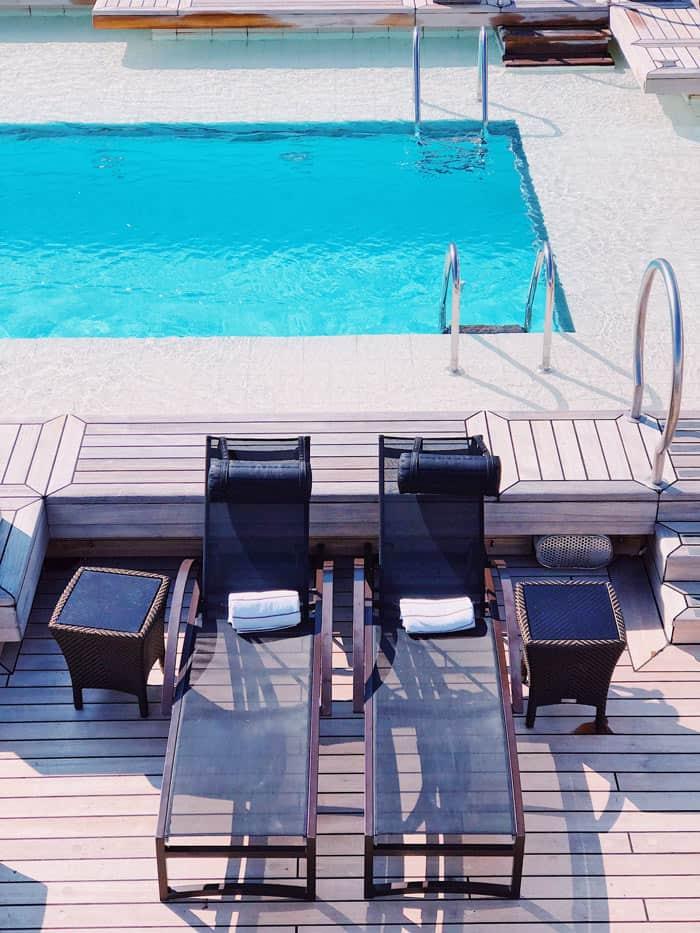 Pool on Seabourn Odyssey