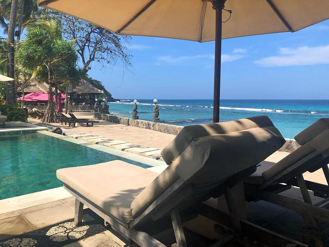 Where to stay in Lombok? Puri Mas is a great boutique Lombok hotel