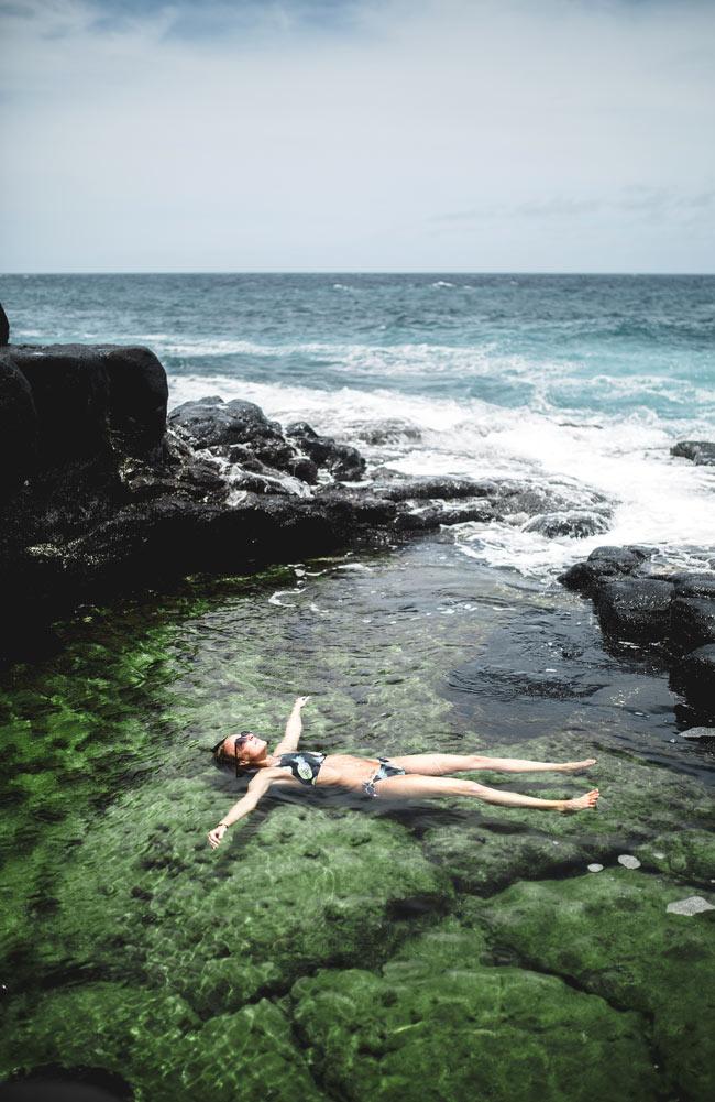 The Queen's Bath, Kauai