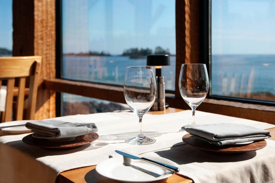 The Pointe Restaurant in Tofino, BC