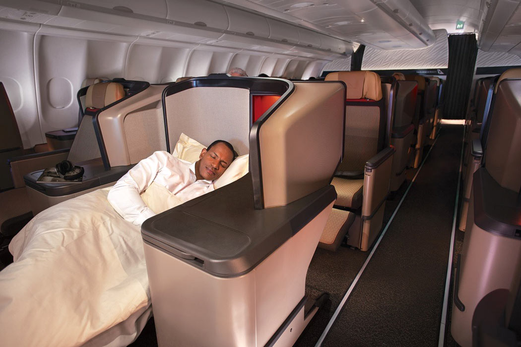 Flying Business Class on South African Airways