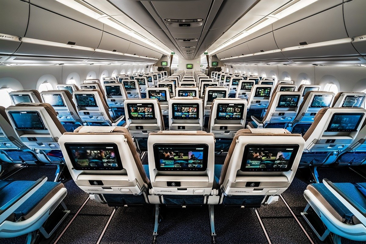 South African Airways Economy Class cabin