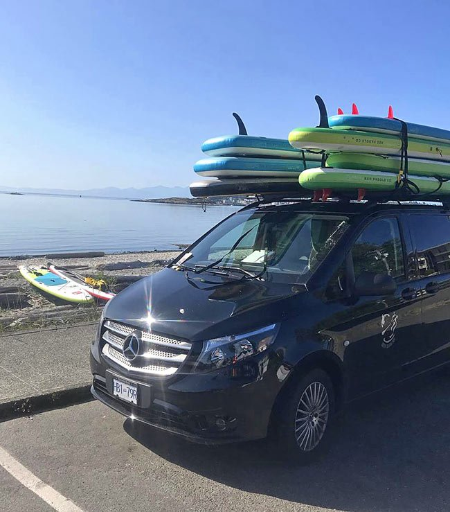 South Island SUP will deliver a rental board to the beach for you