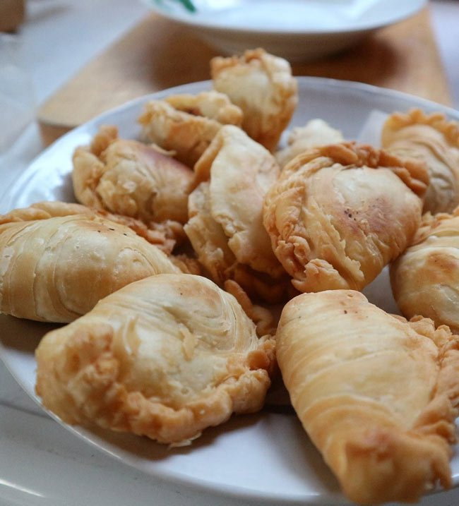The most popular Indian food in the world? Samosas!
