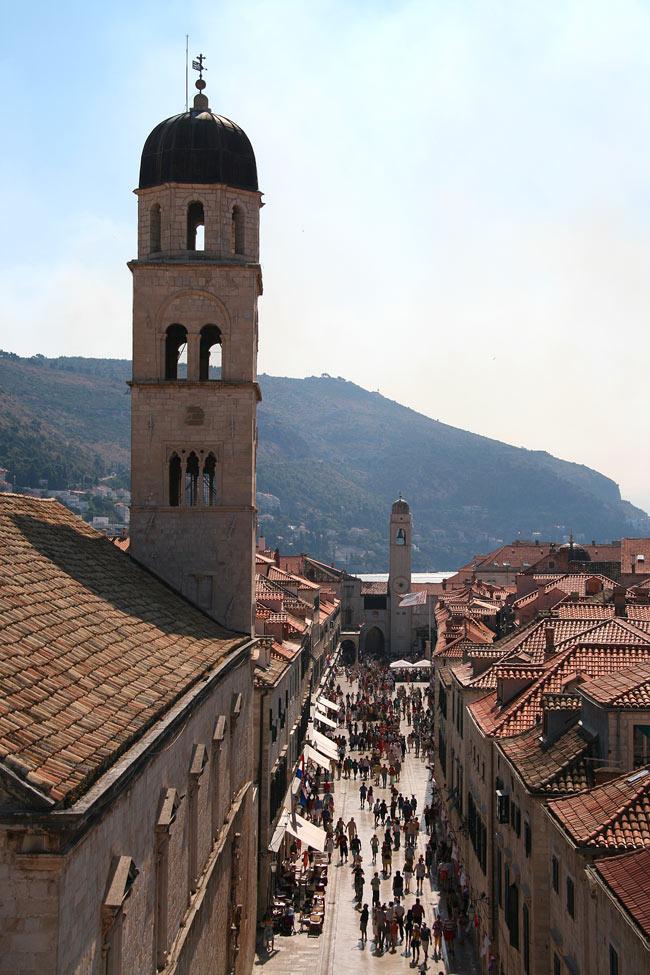 View of Stradun, Dubrovnik