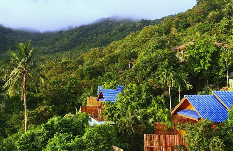 The Place Luxury Villas is great for having your own self-contained accommodation in Koh Tao