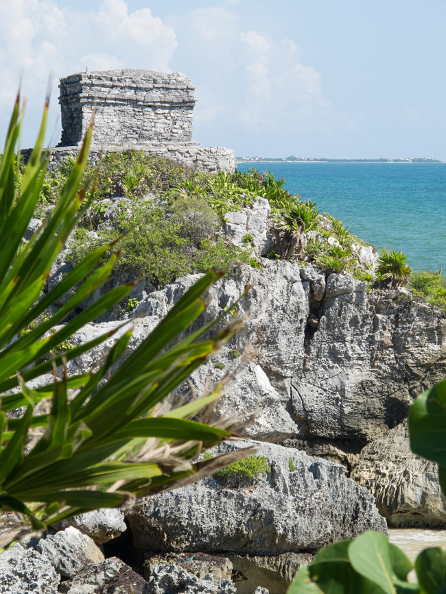The ruins of Tulum are perhaps the most beautiful Mayan ruins in Mexico