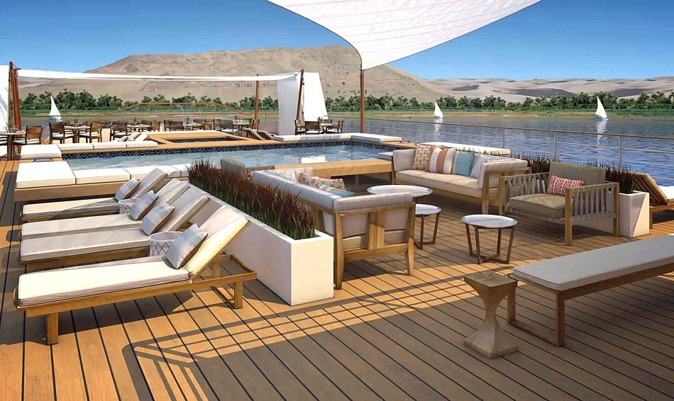 Built to navigate the Nile, the new Viking Osiris' one-week Nile River cruises are packaged with four nights in Cairo.