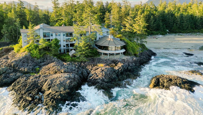 The Wickaninnish Inn is one of the best hotels is Tofino, BC
