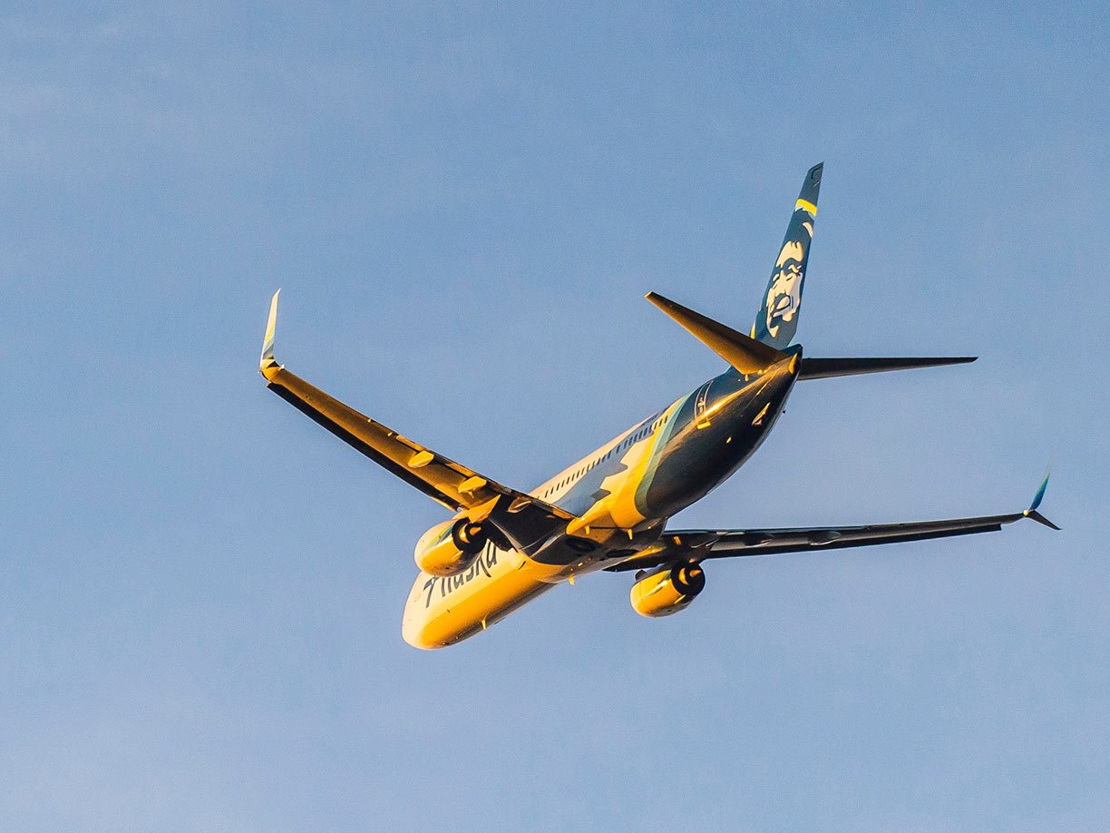 Use the Alaska companion fare to fly inexpensively to Mexico.
