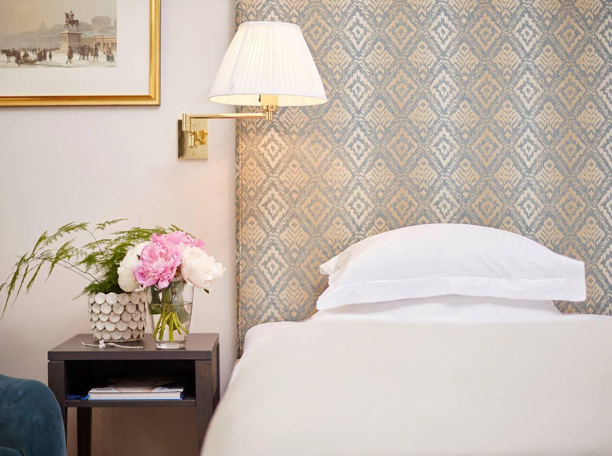 Fresh flowers in your room? A thoughtful touch a many of the most romantic hotels in Europe.