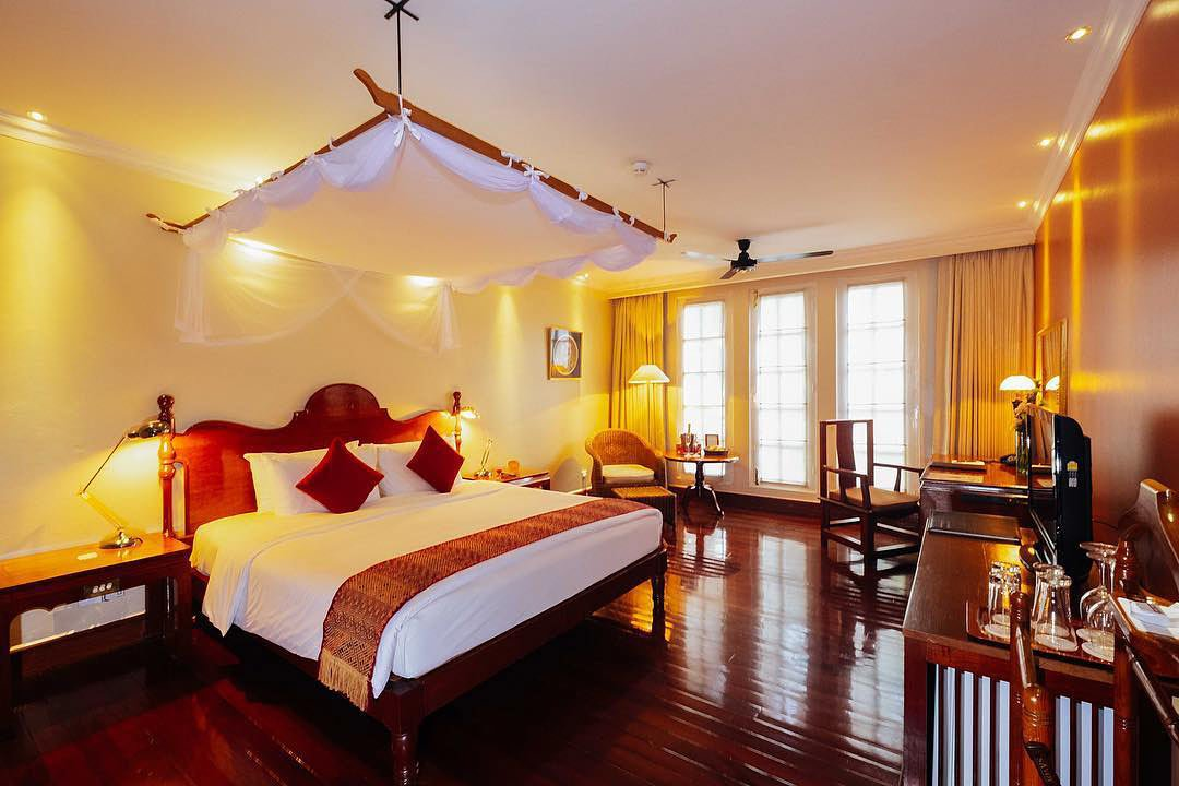 Rooms and suites at Yangon's Savoy Hotel are all different