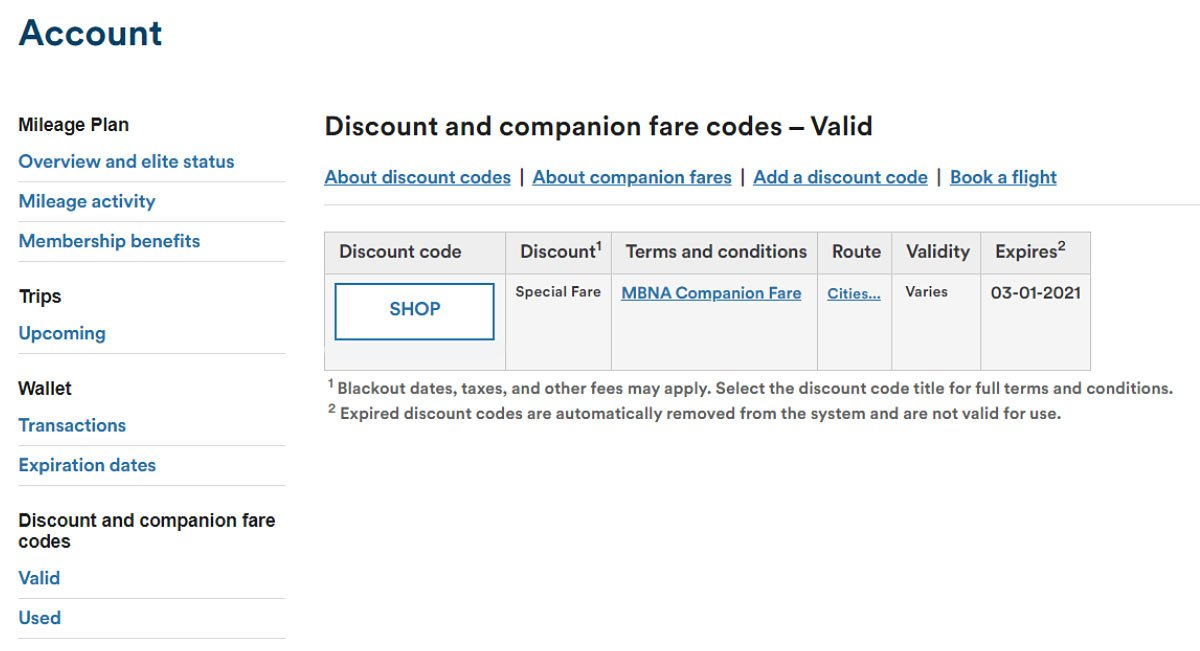 How to book the Alaska Airlines companion fare
