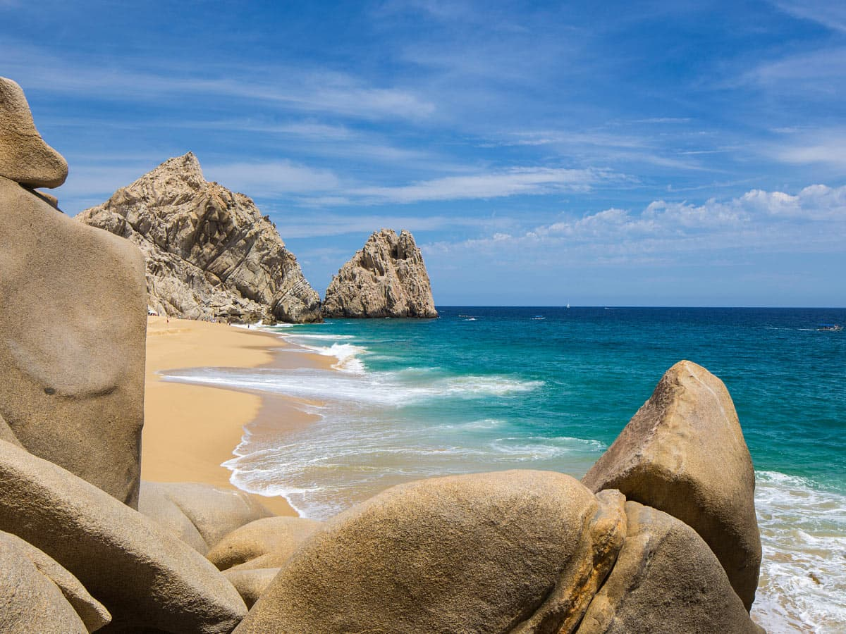 Lover's Beach is one of the best beaches in Los Cabos.