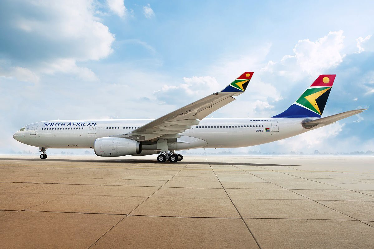 South African Airways Review: SAA flies from North America to South Africa and within the African continent.