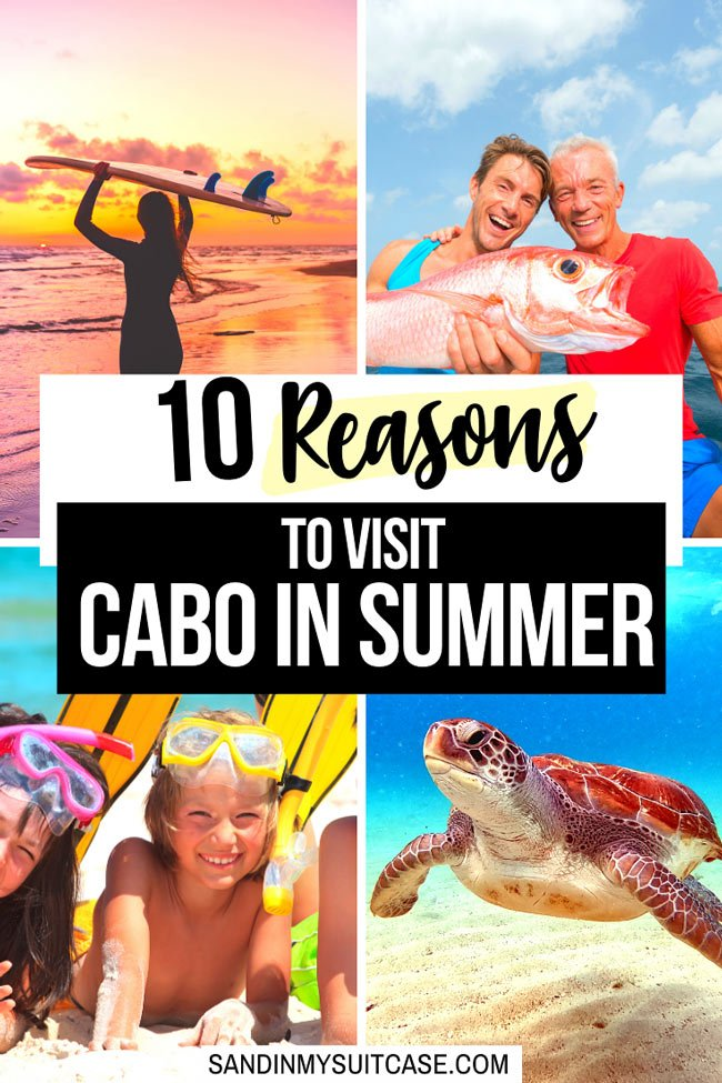 There are many great reasons to visit Cabo in summer!