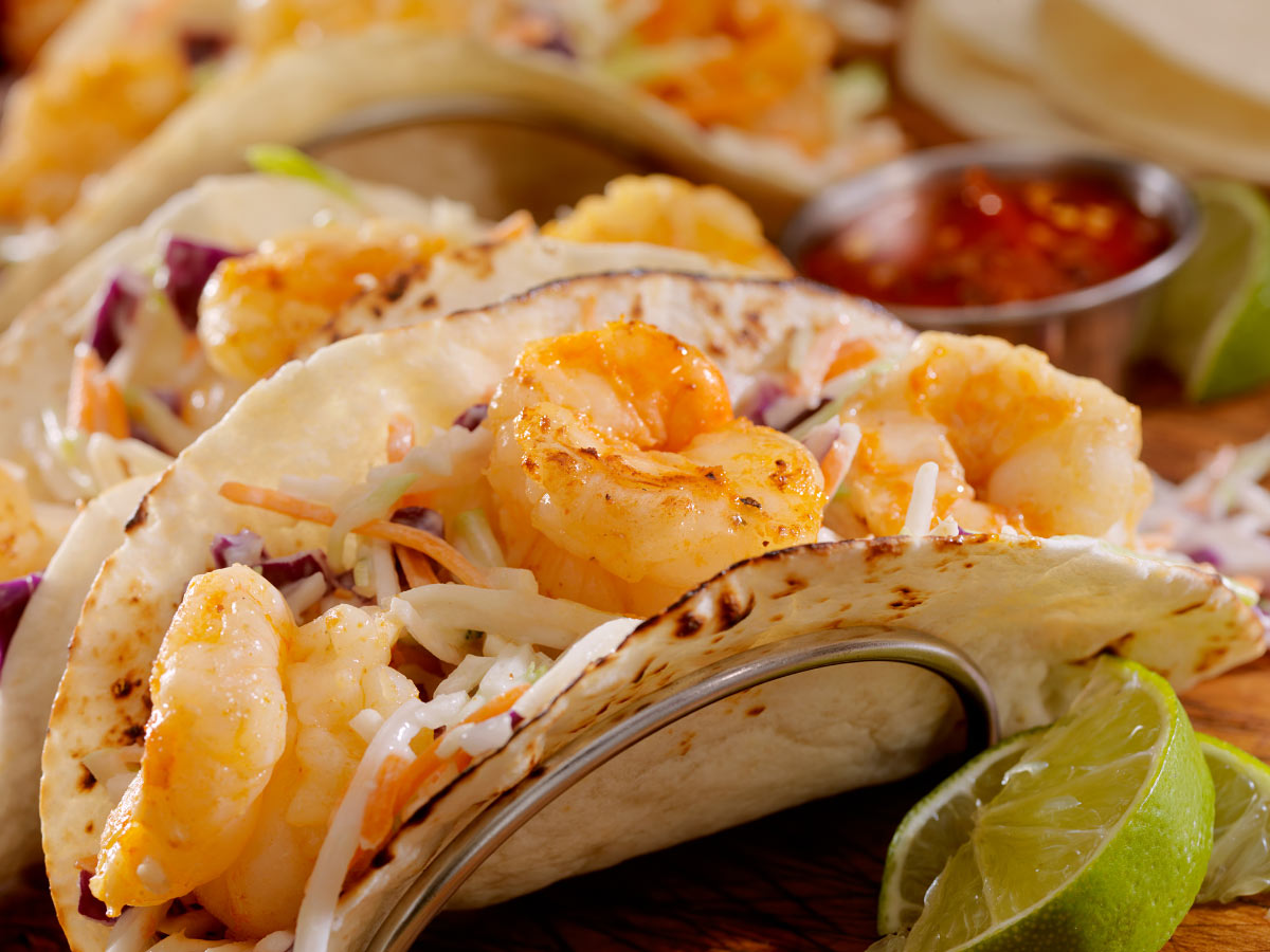 Here's a strange taco fact: Seafood tacos are supposed to be eaten at lunch.