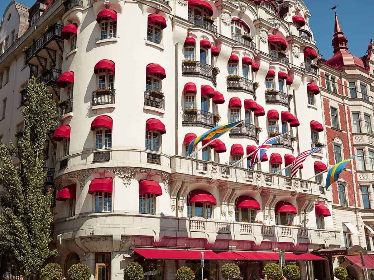 For luxury accommodation in Stockholm, the Stockholm Diplomat Hotel is a great choice.