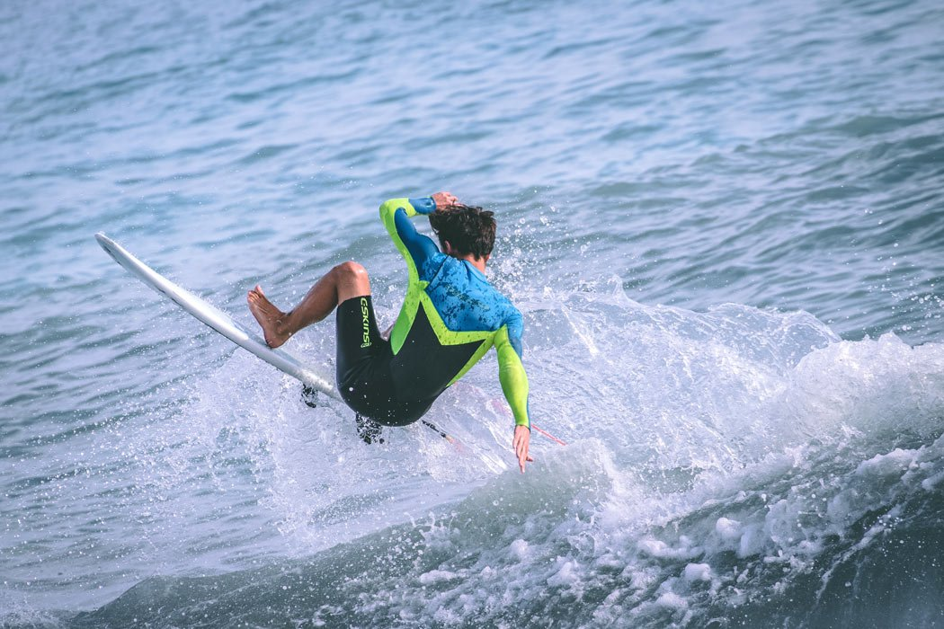 July in Cabo is a great month for surfing.