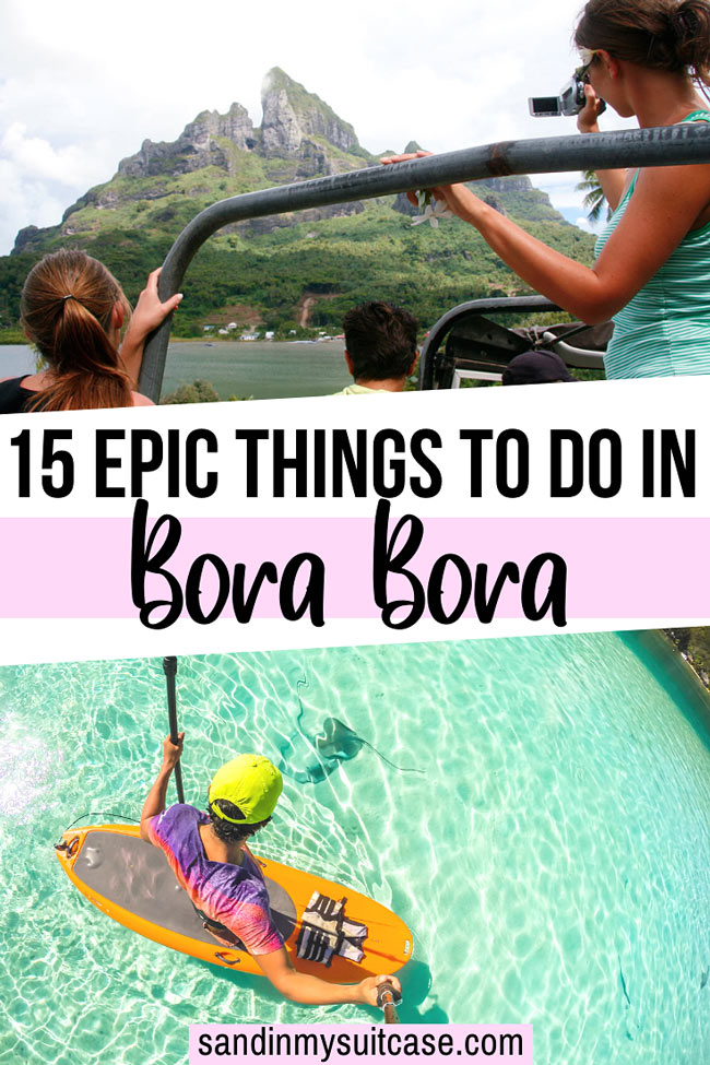 Best Things to Do in Bora Bora