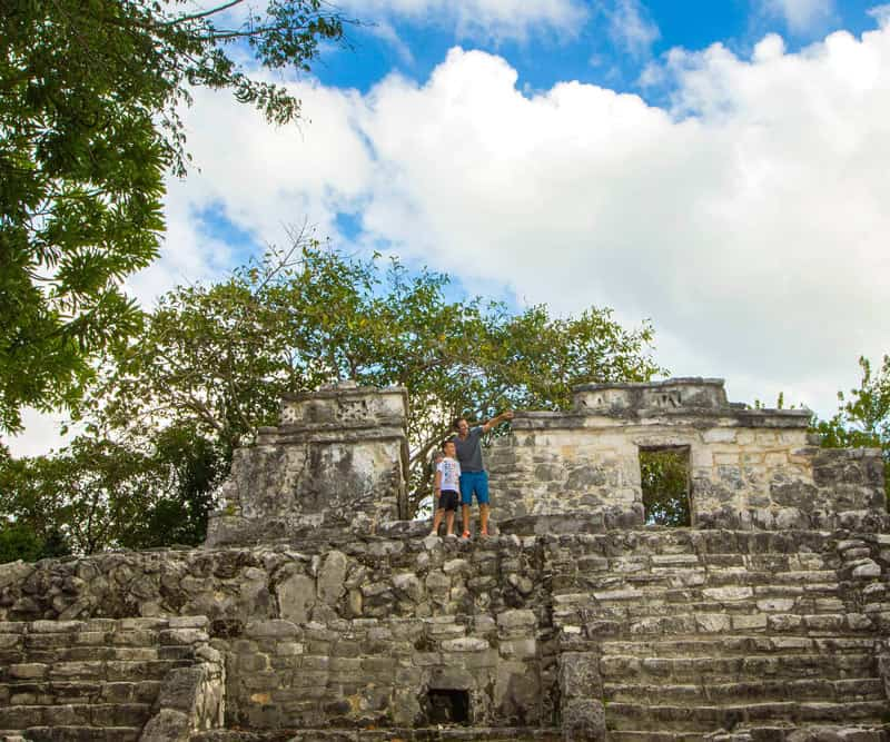 Be sure to check out the Mayan ruins when you visit Xcaret