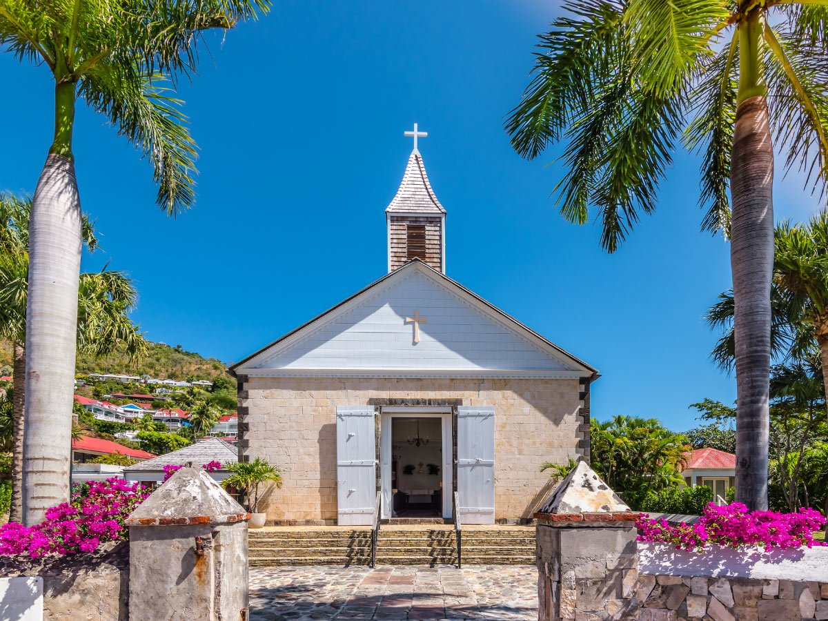 Anglican Church in Gustavia, St. Barts