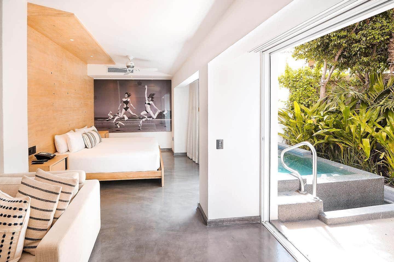 """The """"villa"""" suite at Hotel Bahia in Los Cabos"""