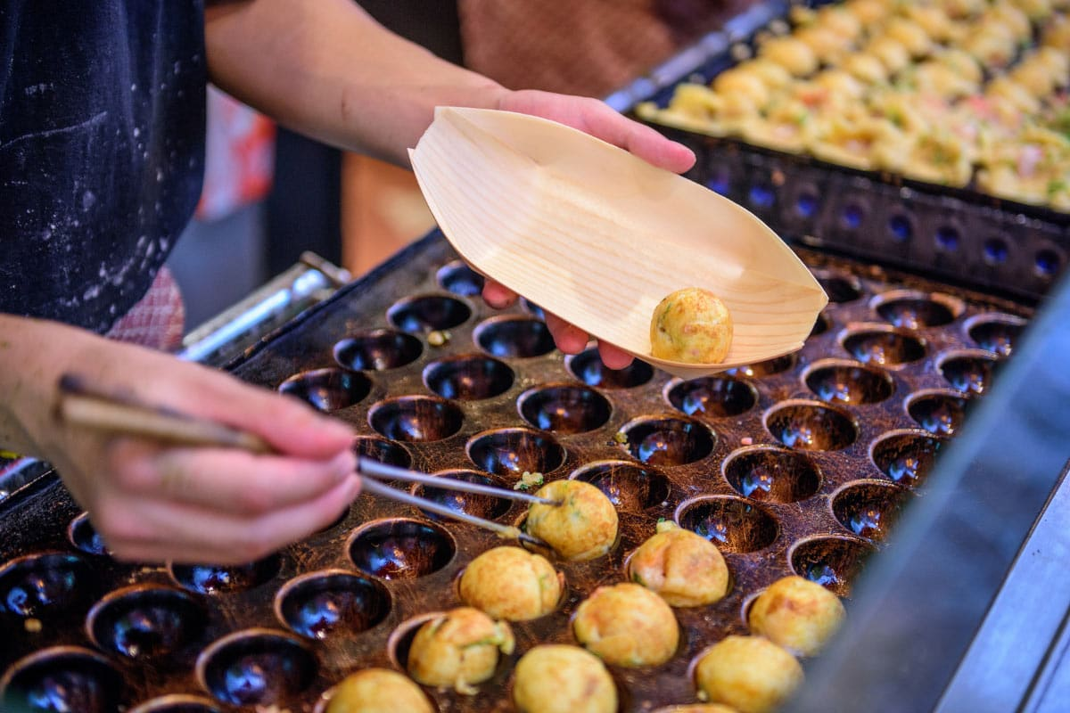 Is Osaka worth visiting? You bet! The delicious Takoyaki balls are worth it alone!