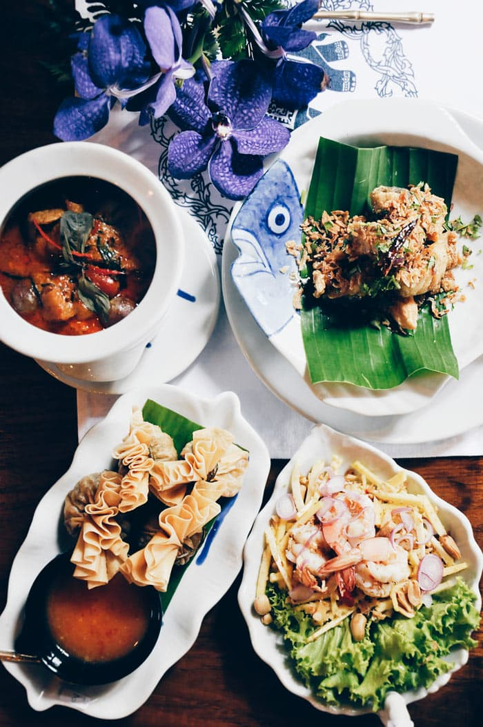Of course, Thailand serves up delicious Thai Food!