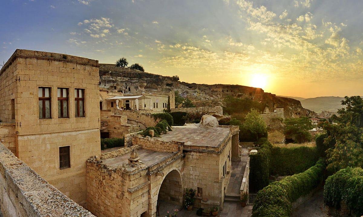 Esbelli Evi is a charming cave hotel in Cappadocia, Turkey.