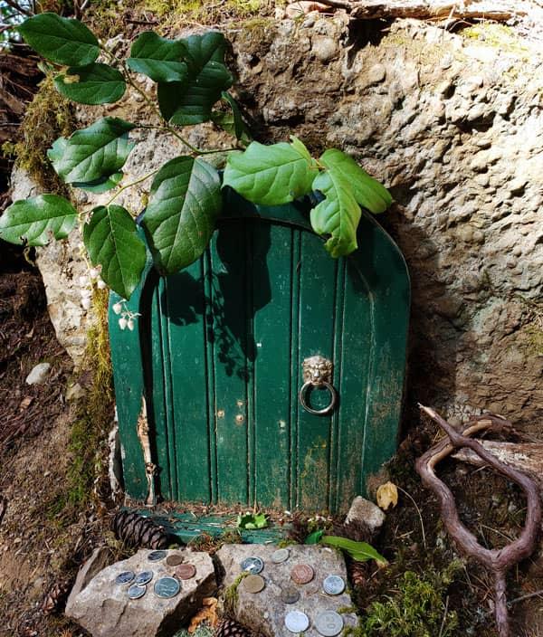 Fairy Door on Mount Erskine, Salt Spring Island