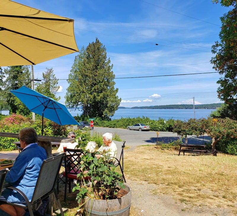 Fernwood Cafe on Salt Spring Island
