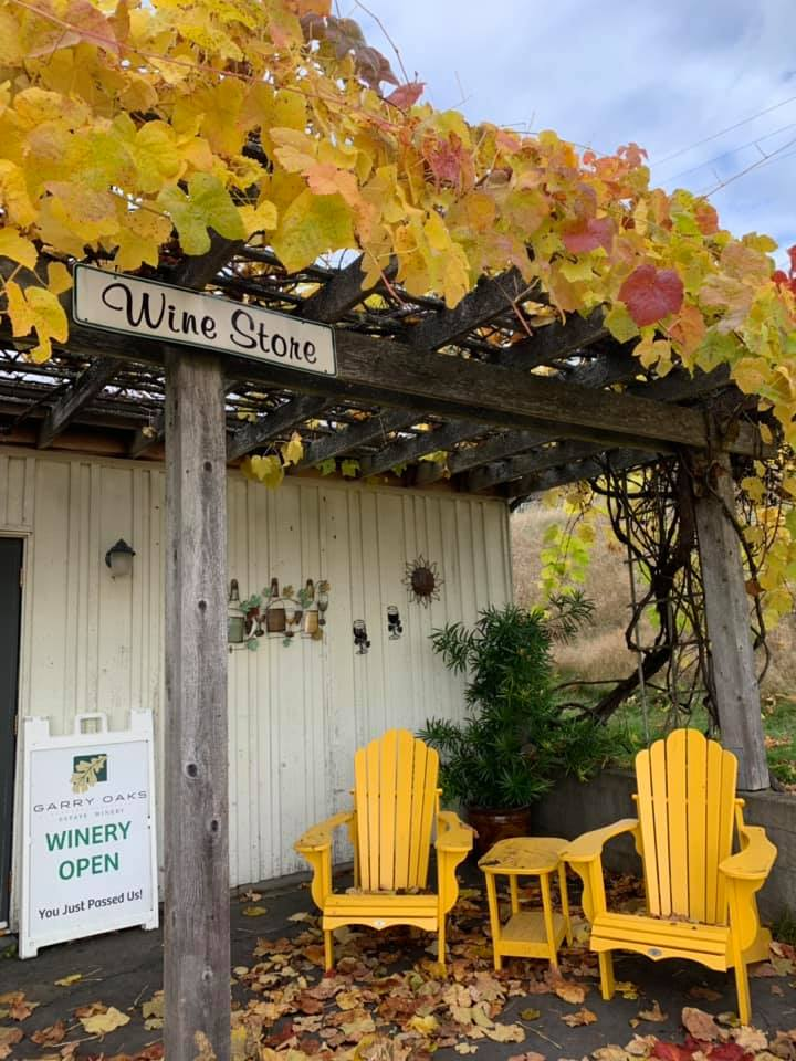 Visiting the Garry Oaks Winery is one of the fun fun things to do on Salt Spring Island