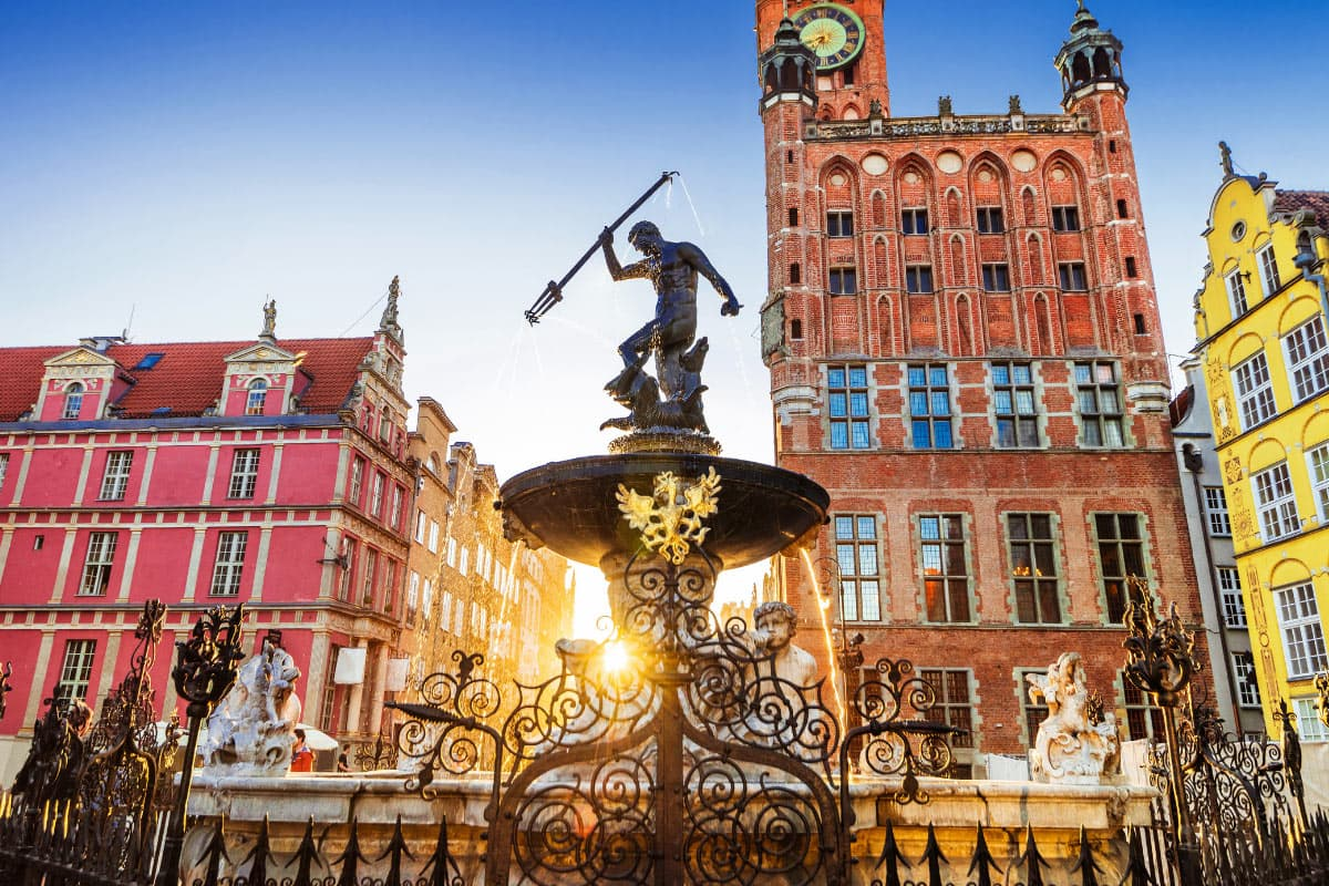 Gdansk Old Town is one of the prettiest towns in Europe!
