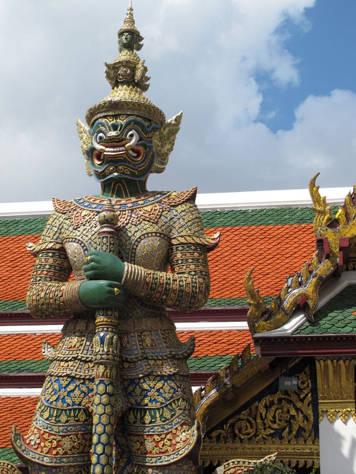 Visiting the Grand Palace is one of the best things to do in Bangkok.