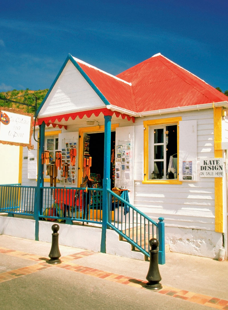 Shopping in St. Barts