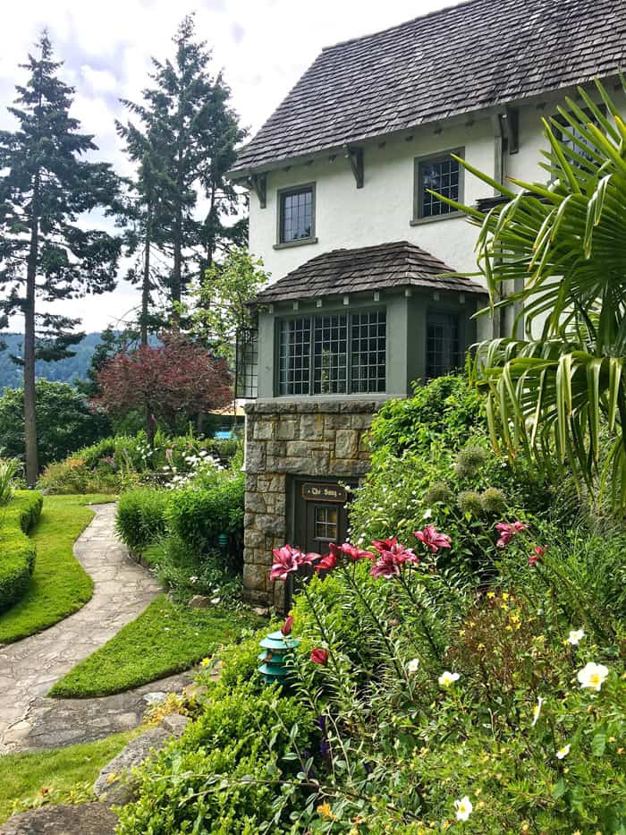 The best place to stay on Salt Spring Island is Hastings House.