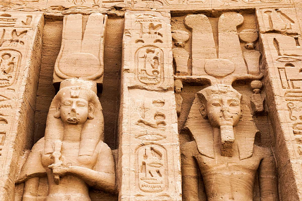 The Temple of Hathor is one of the most beautiful temples of ancient Egypt.