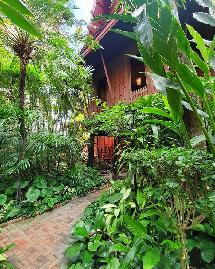 The Jim Thompson House is a popular tourist attraction in Bangkok.