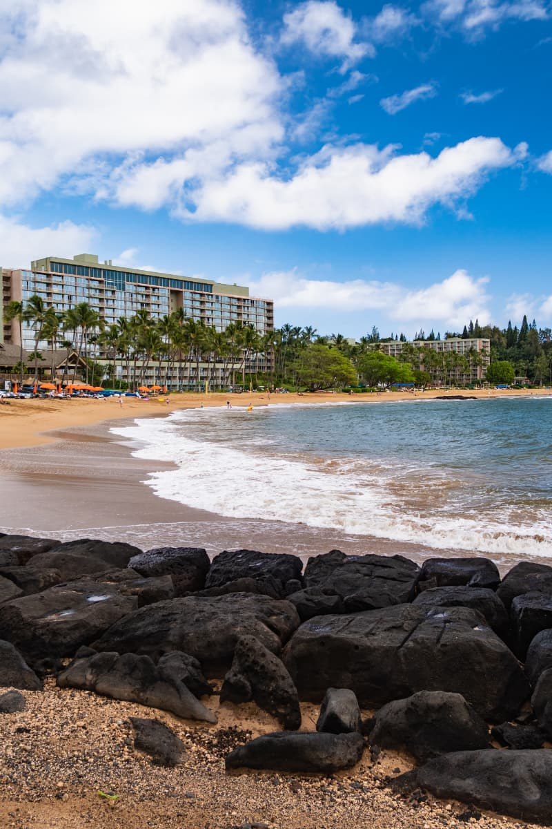 Kalapaki Beach is one of the top Kauai beaches for swimming, SUP and just hanging out.