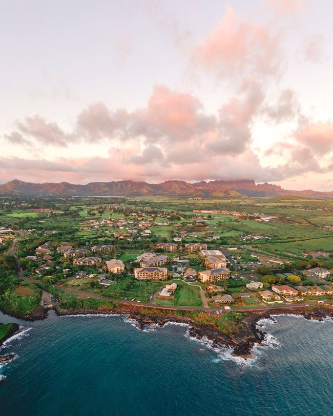Koloa Landing offers deluxe studios right up to 4-bedroom condo-style units in Poipu.