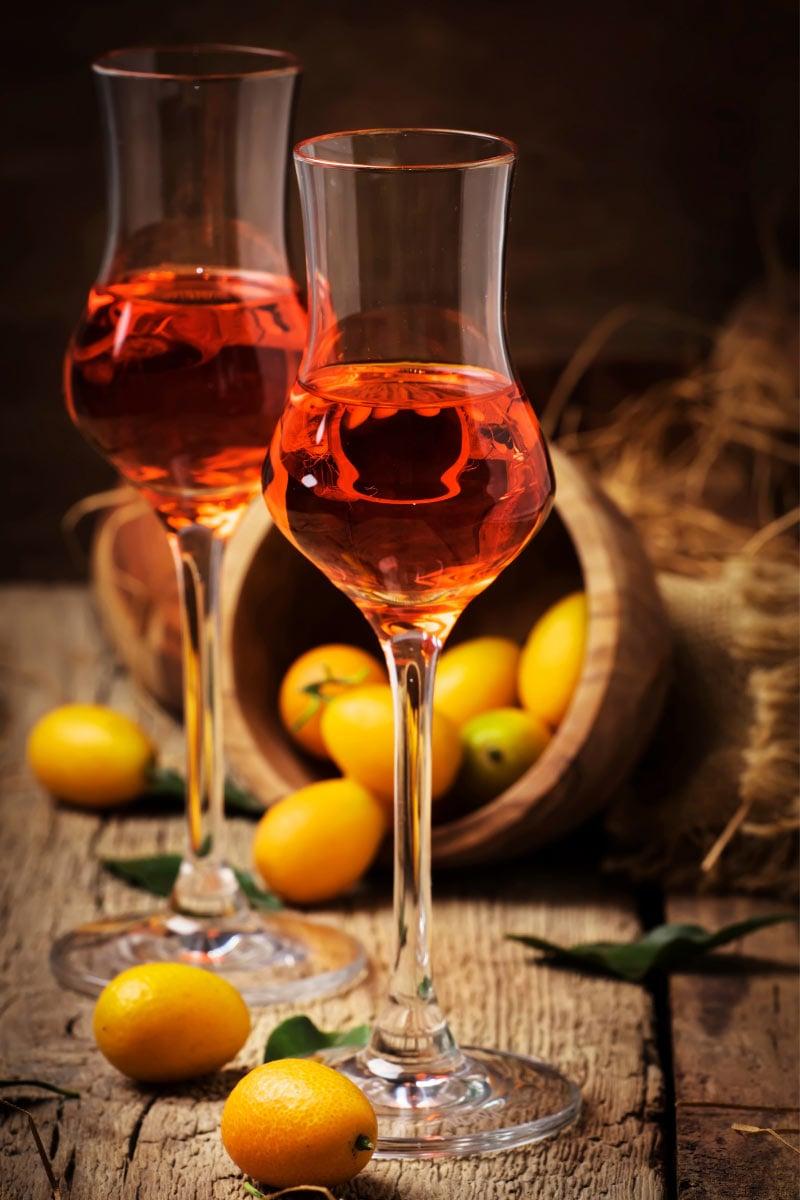 People on Corfu love their kumquat liqueur.
