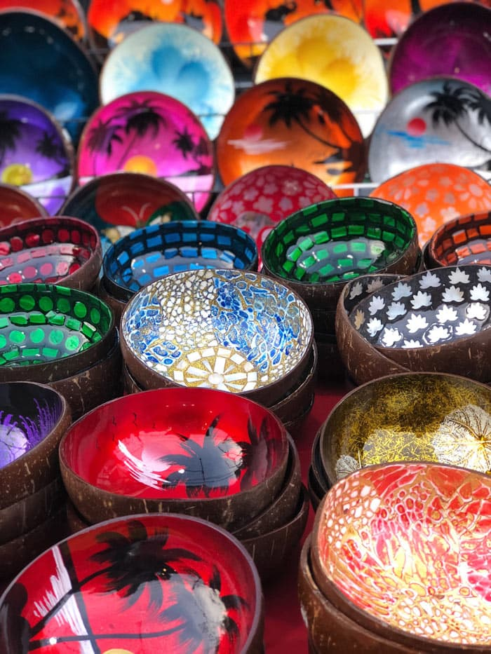 Chiang Mai is one of the best places to visit in Thailand for lacquerware and other arts and crafts.