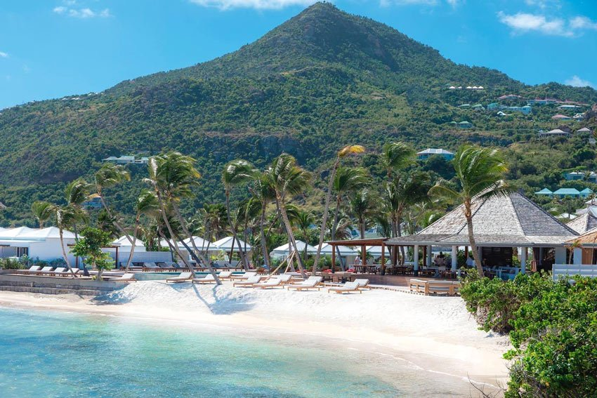 Le Sereno Hotel is one of the best hotels in St. Barts.