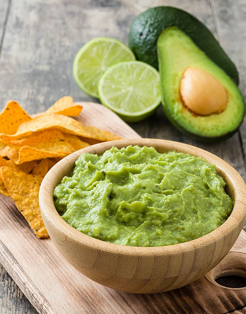 Guacamole is a favorite Mexican food.